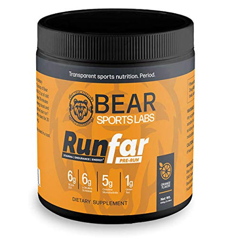 RunFar Pre-Run Drink Powder
