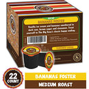 Image of Crazy Cups Flavored Single-Serve Coffee for Keurig K-Cups Machines, Decaf Bananas Foster Flambe, 22 Pods per Box