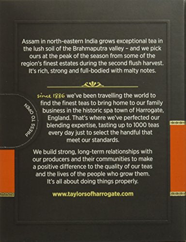 Taylors of Harrogate Assam, 20 Count (Pack of 6)