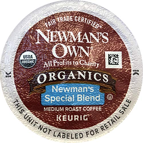 Newman's Own Special Blend Coffee K-Cup Portion Pack for Keurig K-Cup Brewers, Pack of 30 - Packaging May Vary