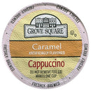 Image of Grove Square Cappuccino, Caramel, 24 Single Serve Cups