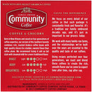 Image of Community Coffee & Chicory Single Serve K Cup Compatible Pods, Box Of 72 Pods