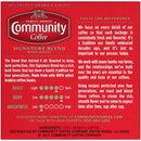 Image of Community Coffee Signature Blend Dark Roast Single Serve K Cup Coffee Pods, Box Of 12 Pods (Pack Of