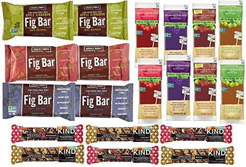 Gluten Free and Non-GMO Healthy Bar Variety Pack (20 Count)