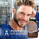Image of Advanced Trichology DHT Blocker with Immune Support - Hair Loss Supplements, High Potency Saw Palmetto, Green Tea & Probiotics, Gluten-Free, Vegetarian - 120-count Bottle - 90 Day Moneyback Guarantee