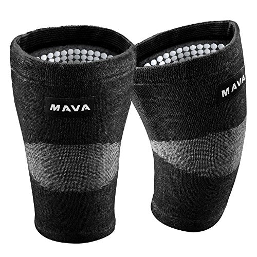 Mava Sports Reflexology Knee Compression Sleeve For Men And Women   Effective Support For Joint Pain