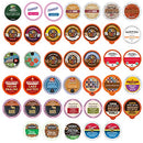 Image of Crazy Cups Flavored Coffee Pod Variety Pack   40 Unique Flavors Of Chocolate, Vanilla, Caramel, & Mo
