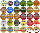 Image of 30-count Top Brand Coffee, Tea, Cider, Hot Cocoa and Cappuccino Variety Sampler Pack, Single-Serve Cups for Keurig-Compatible Brewers