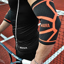 Image of Mava Sports Elbow Compression Sleeve Support For Weightlifting, Pain Recovery, Tendonitis, Gym Worko