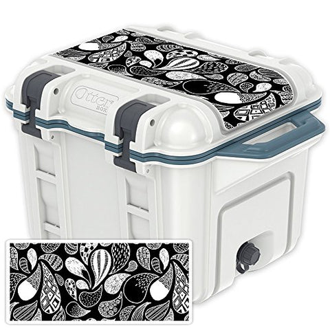 MightySkins (Cooler Not Included) Skin Compatible with OtterBox Venture 25 qt Cooler Lid - Drops | Protective, Durable, and Unique Vinyl Decal wrap Cover | Easy to Apply | Made in The USA