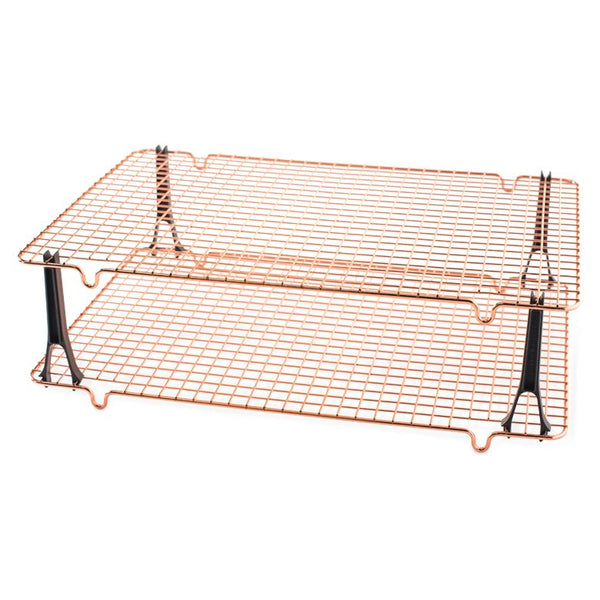 Copper plated airing rack