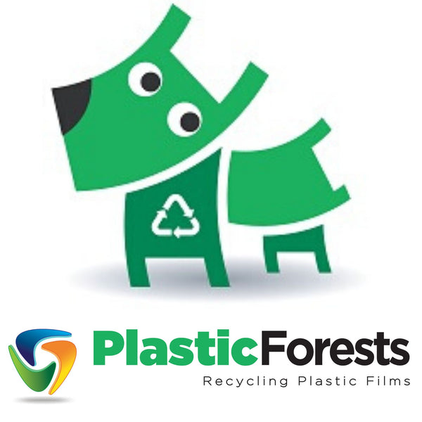 Plastic Forests to recycle Send and Shred bags