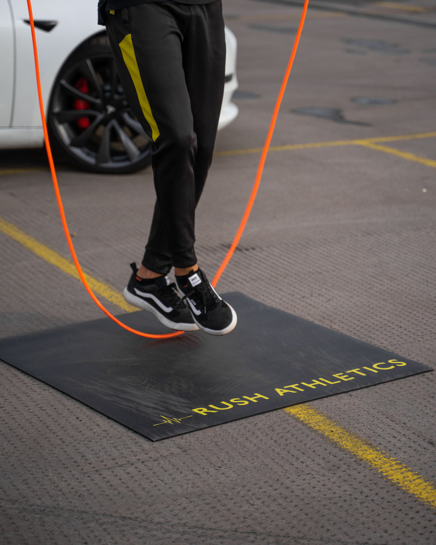RUSH ATHLETICS PORTABLE JUMP ROPE MAT