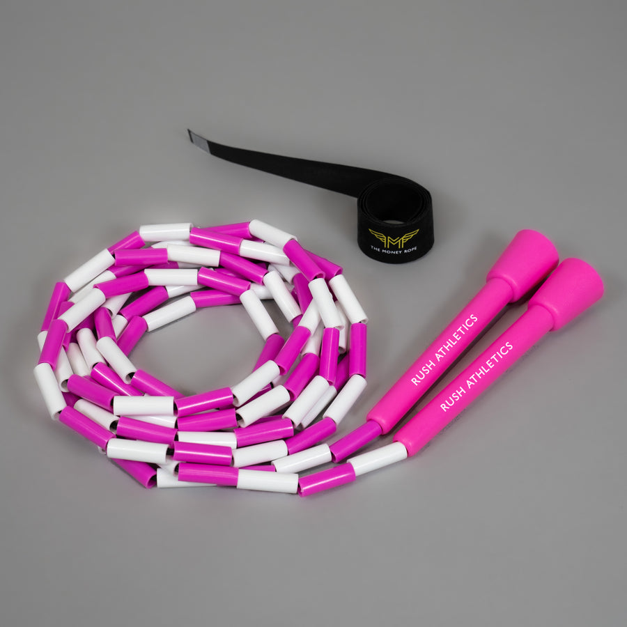 MONEY ROPE - BEADED EDITION - PINK