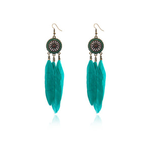Modern Feather Earrings