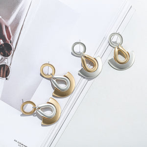 Exaggerated Geometric Earrings