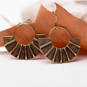 Fantasy Alloy Vintage Earrings