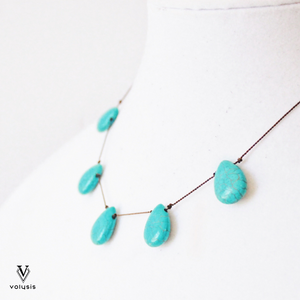 Teardrop Necklace - Adjustable Necklace For Sale | VOLYSIS