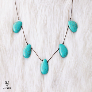 Elegant Adjustable Teardrop Necklace
