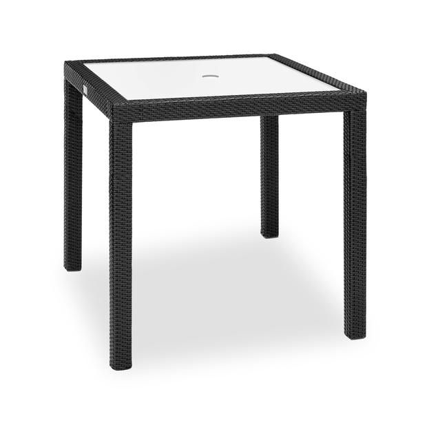 Aria Bar Table W/ Tempered Glass Top