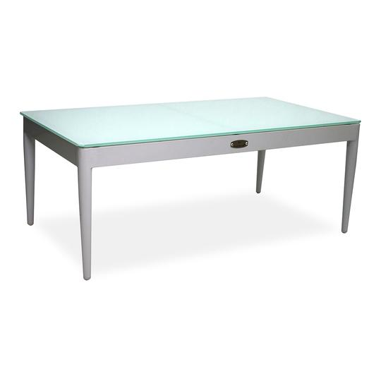 Cancun Coffee Table W/ Tempered Glass Top