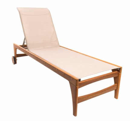 Fendi Chaise Lounge Wooden Wheel Screen