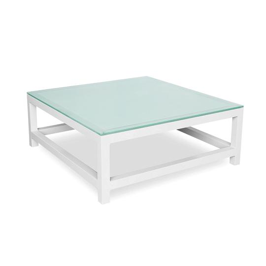 Toledo Coffee Table W/ Tempered Glass Top