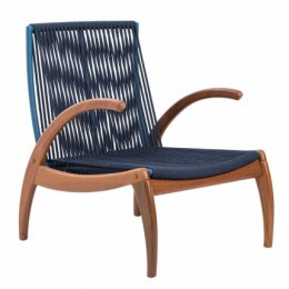 Turin Rope Armchair W/ Arms