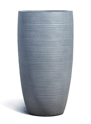 FeatherStone Textured Tall Conic Planter