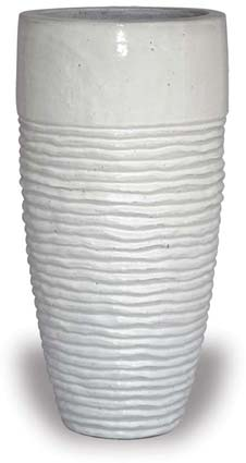 Tall Rippled Planter