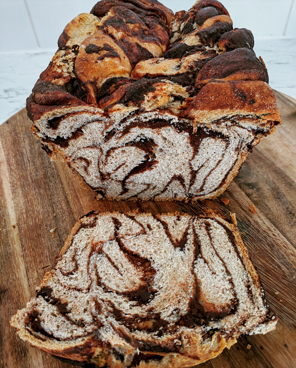 Chocolate and Cinnamon Babka