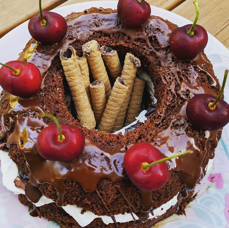 Black Forest Cake (vegan & gluten free)