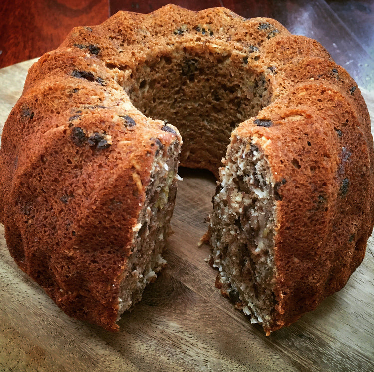 Choc Chip Banana Cake