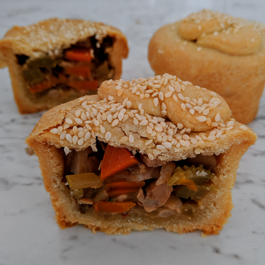 Hearty Vegan Pies