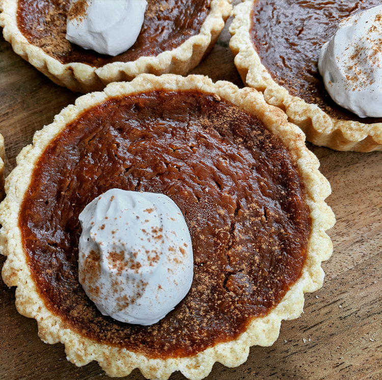 Vegan Pumpkin Pies