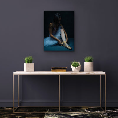 """Pointe Ritual"" Limited Edition Signed Giclée Print by Aaron Jean Photography"
