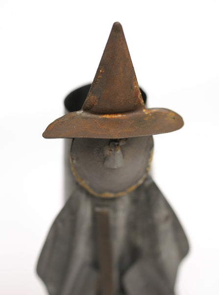 Witch Tin Vase