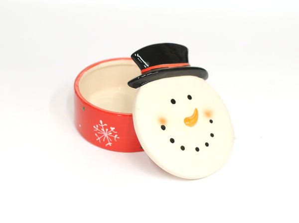 Snowman Covered Dish