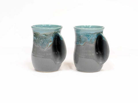 Teal and Gray Mug
