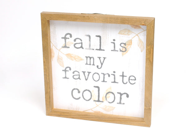 Favorite Color Sign