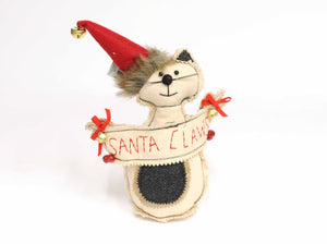 Santa Claws Cat
