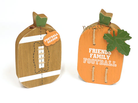 Football Pumpkins