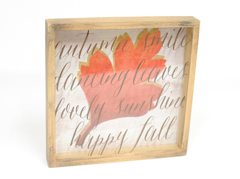 Happy Fall Shadowbox