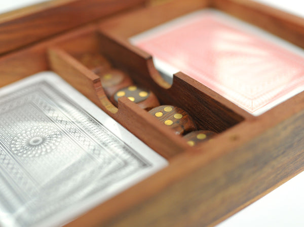 Card Box with Dice