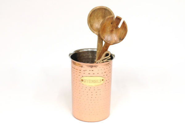 Copper Utensil Canister