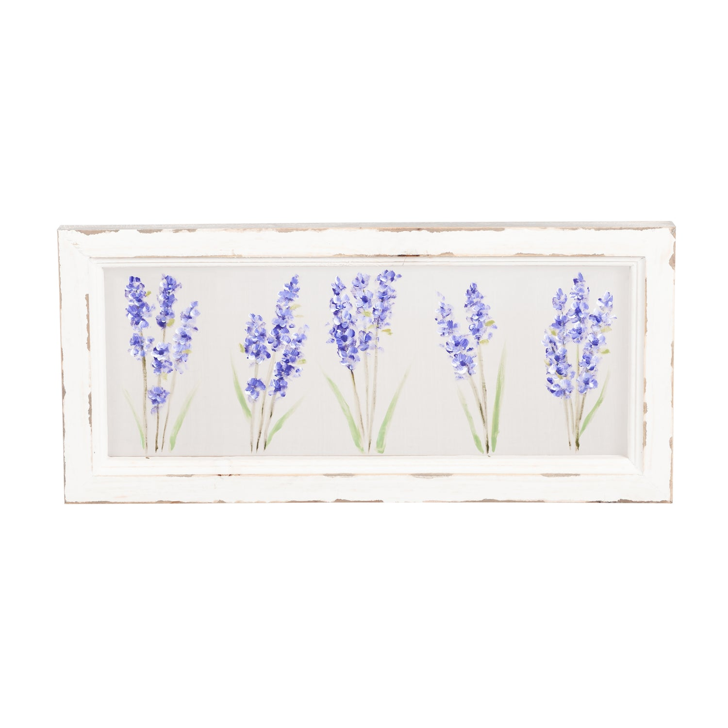 Hand Painted Screen - Lilacs