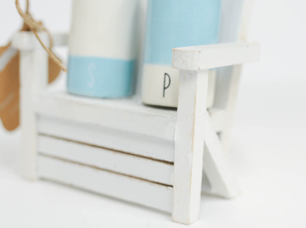 Salt and Pepper Beach Chair