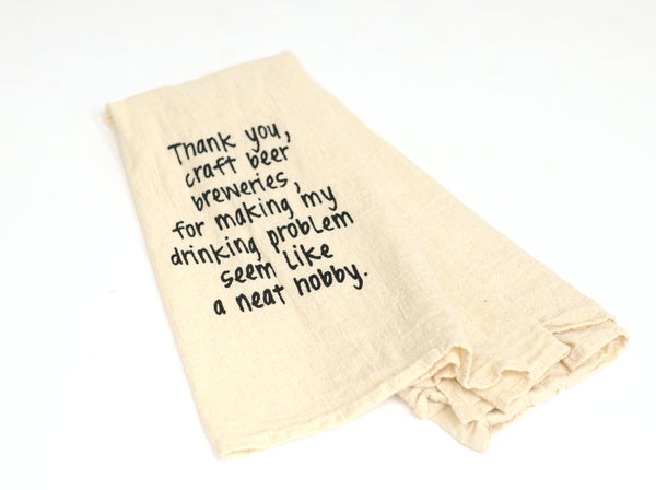 Craft Brewery Bar Towel