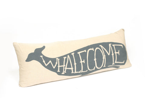 Whalecome Couch Pillow