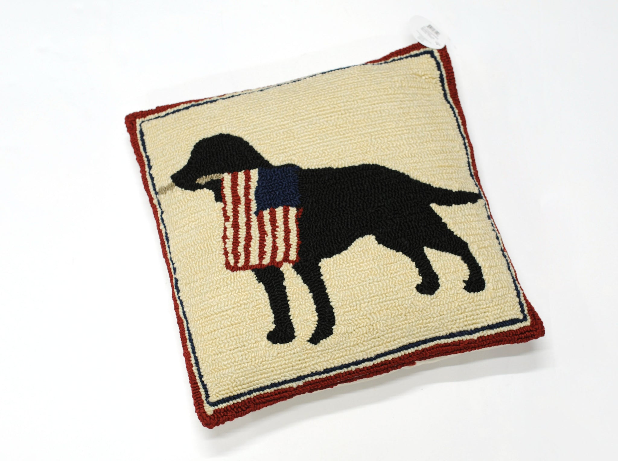 Patriotic Dog Pillow